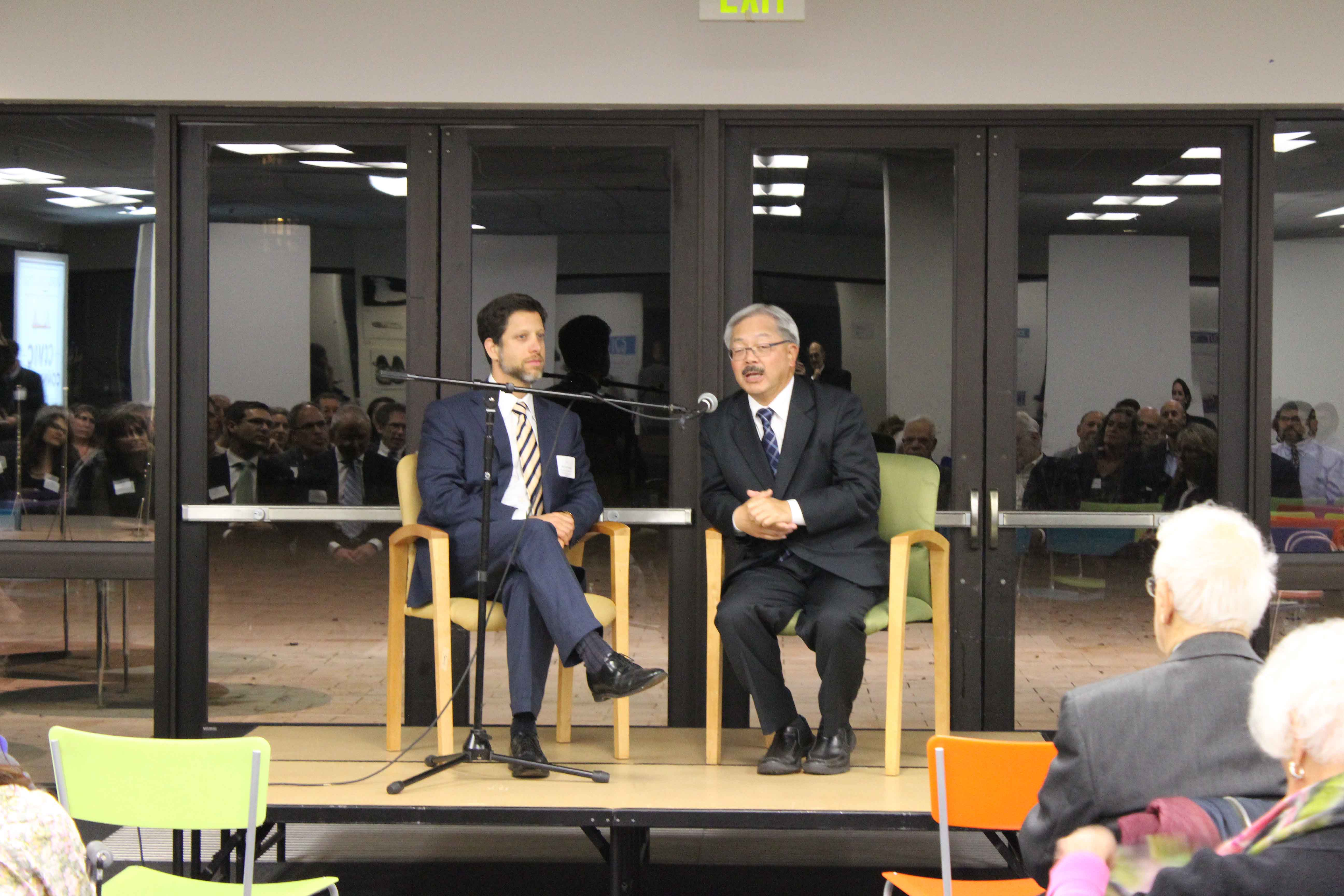 Finding Common Ground with Mayor Ed Lee