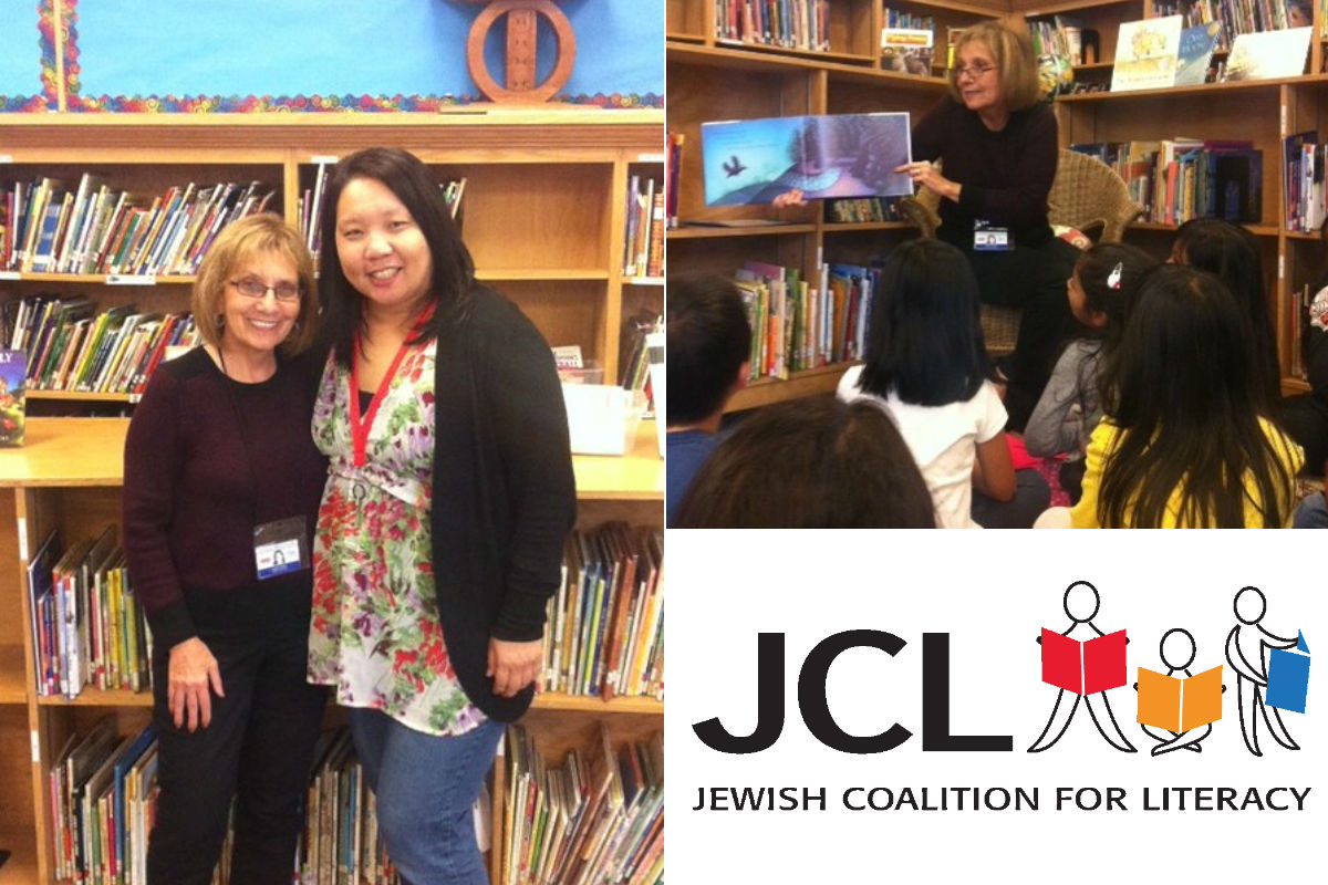 Jewish Coalition for Literacy Lead Tutor Janet Parker