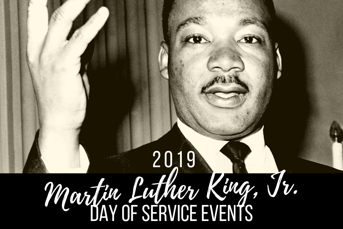 MLK Day of Service Events 2019