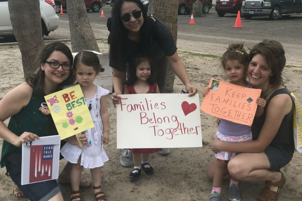 As parents, we were compelled to visit a Texas immigrant detention center
